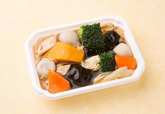 彩り野菜と湯葉