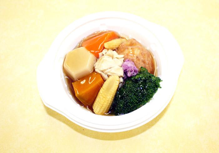 海老しんじょと彩り野菜