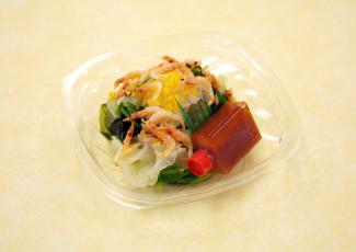 桜海老と春野菜のサラダ