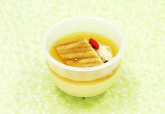 煮穴子と湯葉の茶碗蒸し