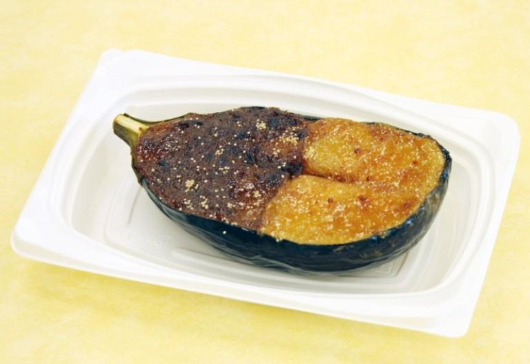 米茄子のチーズ味噌二色田楽