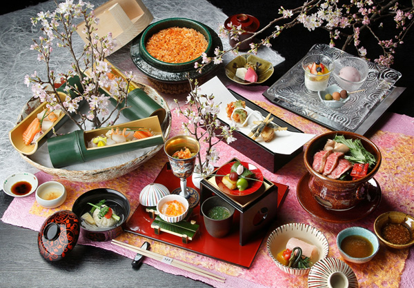 春の統一コース『春陽~しゅんよう~ 春野菜と桜海老』のご案内。 期間:2014/3/1~3/31 |               なだ万