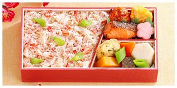 季節御膳「蟹ごはんと彩々膳 (さいさいぜん)」発売中